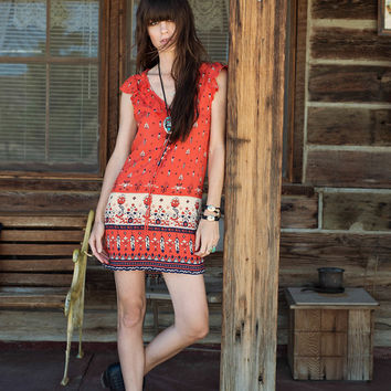 Desert Wanderer Shift Dress - Sunset | Spell & the Gypsy Collective