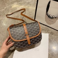 Goyard Women Leather Shoulder Bag Satchel Tote Bag Handbag Shopping Leather Tote Crossbody Satchel Shouder Bag created