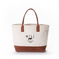 Signature Utility Tote | WILL LEATHER GOODS