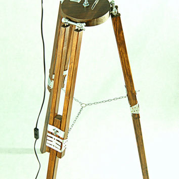 Industrial Floor Lamp TRIPOD Chrom Classic - Modern Stand Autumn SALE!!! 129 Euro insted of 214 Euro! Only till October 25th!