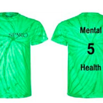 Spero customized tie dye shirts