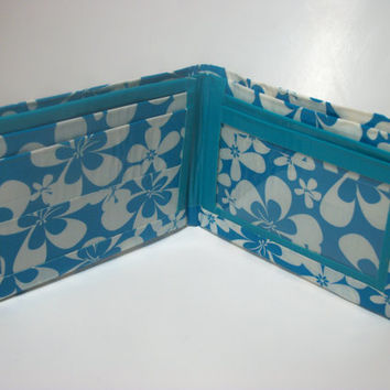 Duck Tape Wallet Duct Tape Bi Fold Billfold Custom by TiedUpInTape