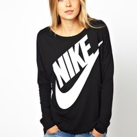 Nike | Nike Long Sleeved Top at ASOS