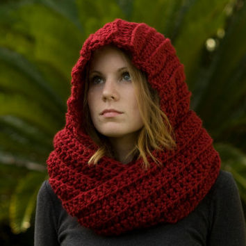 Hooded Scarf New 396 Crochet Hooded Scarf Etsy