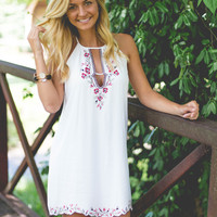 Life Is But A Dream- Embroidered Dress