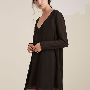 Buy On Film Lng Slv Dress - Black | The Fifth | The Birdcage Boutique