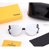 FENDI 2018 new casual fashion women's color film polarized sunglasses