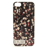 So Many Bands, So Little Money Floral Phone Case