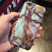 Unique Marble iPhone 6 6s Plus Case