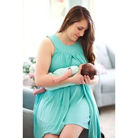 Women's High Quality Soft Sleeveless Nursing/Maternity Dress.    Necessary When Breastfeeding!!    Available in Plus Sizes From XL to 4XL.   ***FREE SHIPPING***