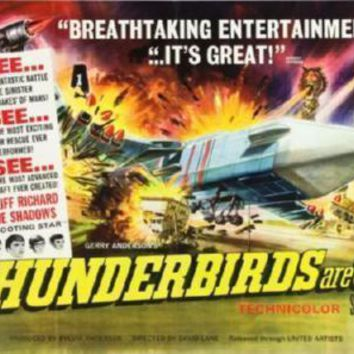 Thunderbirds Are Go Poster 16inx24in