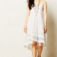 Danthonia Dress by Anthropologie Ivory