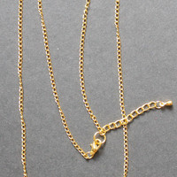 Gold Wire Name Necklace With Heart - Custom Handmade Up To 10 Letters