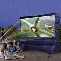 Gemmy 39127-32 Deluxe Outdoor Inflatable Movie Screen, 12-Ft. Widescreen:Amazon:Patio, Lawn & Garden
