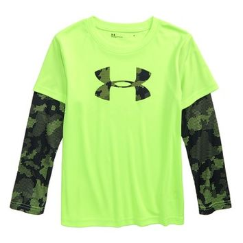 Under Armour Utility Layered Long Sleeve T-Shirt (Toddler Boys & Little Boys) | Nordstrom