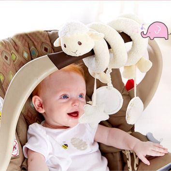 Baby Toys 0-12 Months Mobile Toys For Kids Newborn Baby Cot Beds Rattle Stroller Toys Doll Educational Kid Rattles