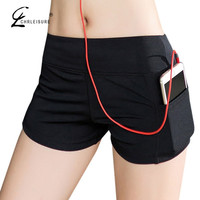 CHRLEISURE S-XL 10 Colors Women's Workout Shorts With Pocket Fashion Casual Stretchy Short for Women Slim Womens Short 1A 2A
