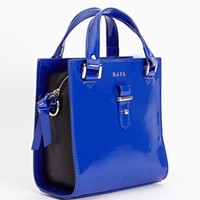 Liquid Color Satchel - Violet
