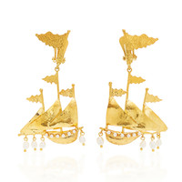 Capitana Earrings | Moda Operandi