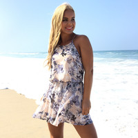 Unforgettable Floral Romper