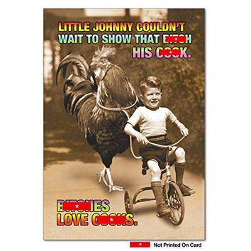 Bes Love Ck Unique Funny Birthday Card - Greeting Cards - Free Shipping
