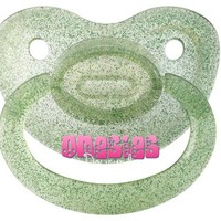 Adult Sized Pacifier - Glittery Green
