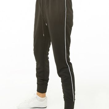 Active Piped-Trim Sweatpants