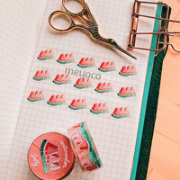 Watermelon Jelly Clear Tape by meyoco