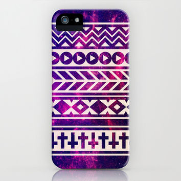 Urban Tribal Nebula iPhone & iPod Case by hyakume