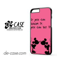 Disney Mickey And Minnie Mouse Quotes DEAL-3358 Apple Phonecase Cover For Iphone 6 / 6S