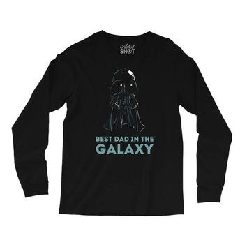 best dad in the galaxy Long Sleeve Shirts
