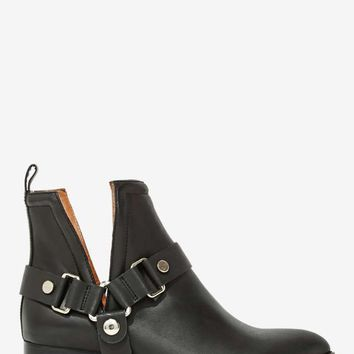 Jeffrey Campbell Musk Harness Leather Boot