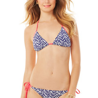 Lilly Pulitzer Boardwalk String Bikini Top