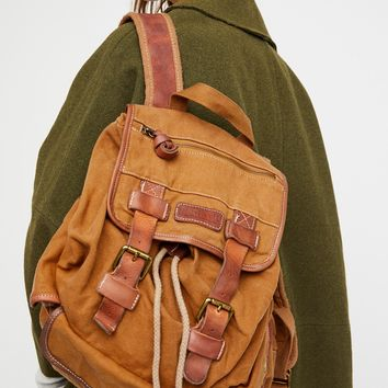 Free People Stuart Washed Backpack