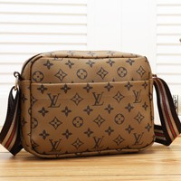 LV Louis Vuitton Fashion Casual Print Small Square Bag Shoulder Crossbody Bag