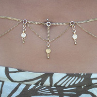 Luna Belly Chain - Gold