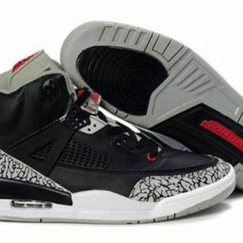 Cheap Air Jordan 3.5 Spizike Retro Men Shoes Black Grey