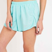 Nike Modern Embossed Tempo Shorts in Blue - Urban Outfitters