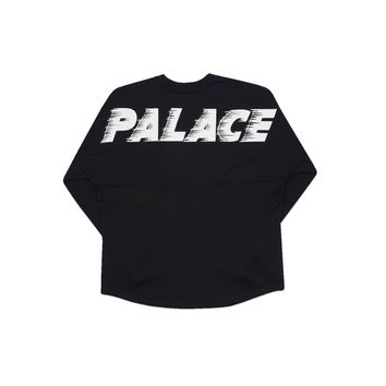 FAST HEAVYWEIGHT L/S T-SHIRT BLACK | Palace Skateboards USA