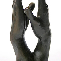 Study for The Secret Clasping Hands by Auguste Rodin 6H