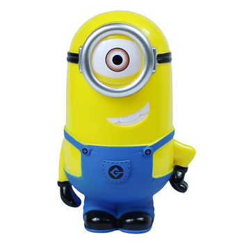 Single Eye Minion 3D Minions Cartoon Figures Piggy Bank Money Box hucha Saving Coin Cent Penny Children Toy