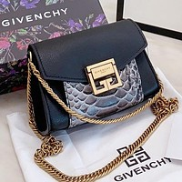 Givenchy  New fashion leather chain shopping leisure waist shoulder bag crossbody bag