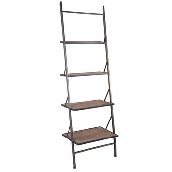 Metal Leaning Shelf