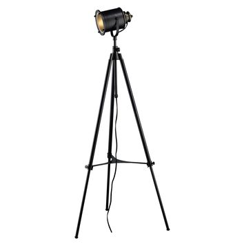 D1735 Ethan Adjustable Tripod Floor Lamp in Restoration Black