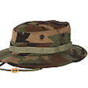 MILITARY SPEC GI TACTICAL BOONIE HAT SUN HAT BY PROPPER F5502-12 COTTON/POLY