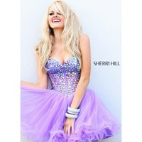 Sherri Hill 21101 Beaded Party Dress