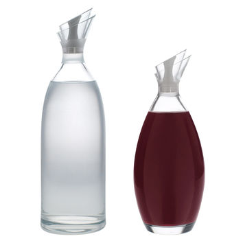 Verte Carafe 40 oz & Decanter 34 oz Set