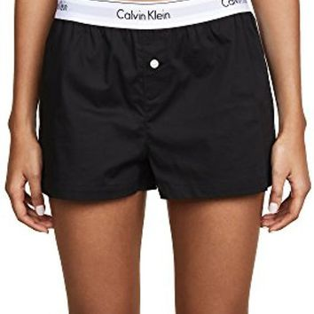 DCCKG2C Calvin Klein Underwear Women's Modern Cotton Sleep Shorts