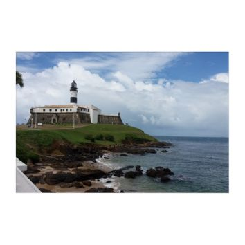 Barra Lighthouse - Salvador - Brazil - Wall Art