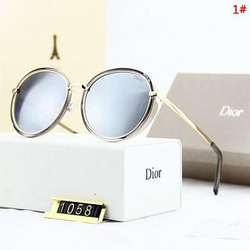 DIOR Women Fashion New Polarized Sun Protection Travel Glasses Eyeglasses 1#